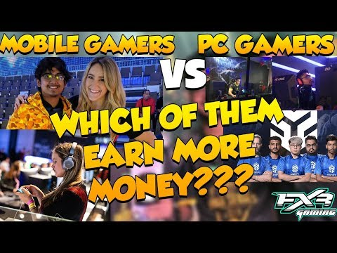 WHICH eSPORTS CAREER IS BEST PC OR MOBILE????? || PC GAMING VS MOBILE GAMING IN INDIA HINDI