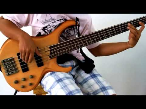 Hotel california [ cover bass by note CO2]