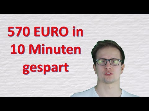 Ausgaben reduzieren leicht gemacht - In 10 Minuten 570€ gespart - 3 Konto Modell verwendet
