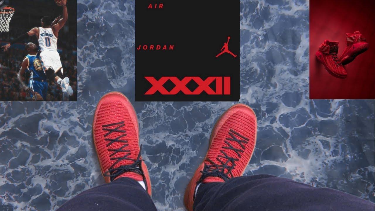 4aee2f9b3691 Air Jordan 32 First Look + on Feet Review - YouTube