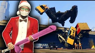 JEDI SANTA! Force Powers Mod - GTA 5 Mods and Funny Moments
