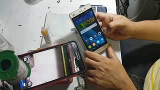 Huawei p8 lite no da camara
