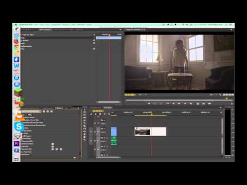 Tutorial Adobe Premiere Pro CC 2014 Updates Part A - Masks and Motion Tracking