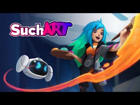 SuchArt: Genius Artist Simulator - Gameplay Trailer   WISHLIST TODAY
