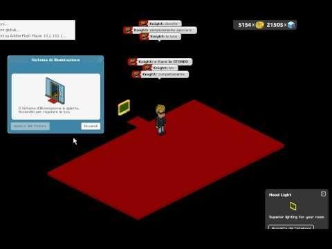 come creare una stanza nera su habbo hotel trucco youtube