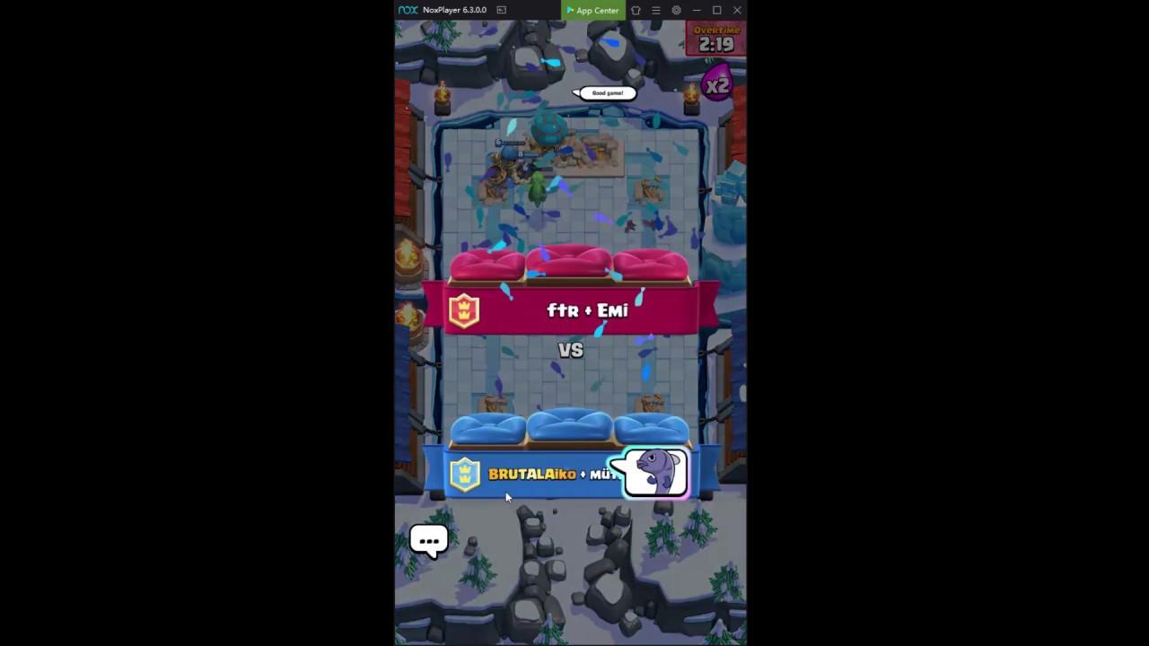 2v2 Mostly (3rd day Clash Royale)