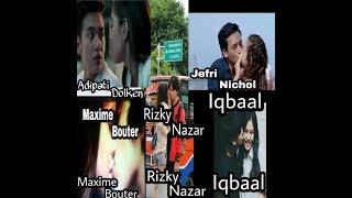 Download Video Adegan Cium Romantis 5 Aktor Muda Indonesia Bikin Baper😍 MP3 3GP MP4