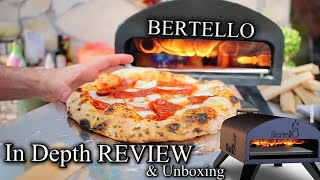 BERTELLO PIZZA OVEN Wood & Gas | In Depth Review And Unboxing