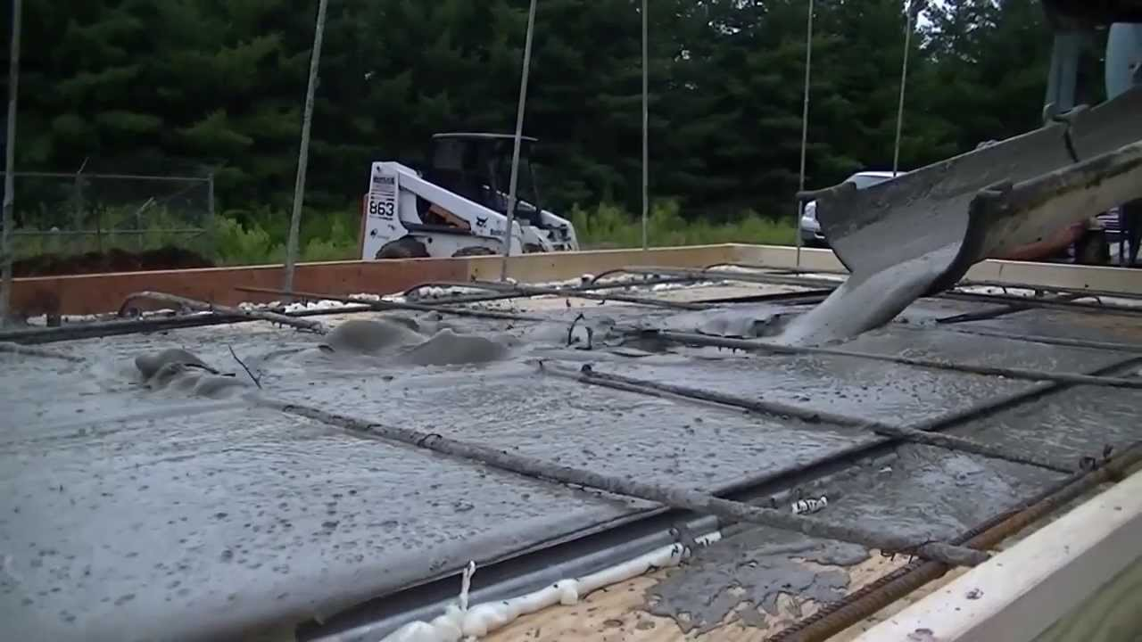 Make Lightweight Concrete : Lightweight concrete system youtube