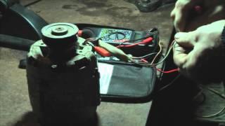 Как подключить электродвигатель от старой стиральной машины с конденсатором и без .(Как подключить двигатель от старой стиральной машины. Можно использовать и конденсатор.., 2015-12-07T09:35:17.000Z)