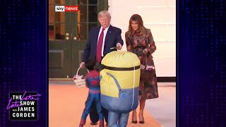 Does Trump Know How Trick-or-Treating Works?