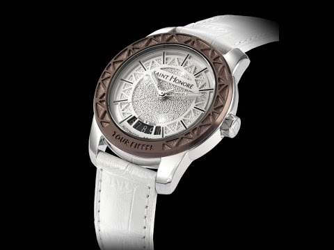THE TOUR EIFFEL WATCH FROM SAINT HONORE: A piece of history on your wrist