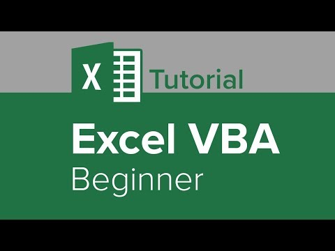 Excel VBA Beginner