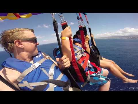 Hawaii Parasailing with Paradise Watersports Waikiki