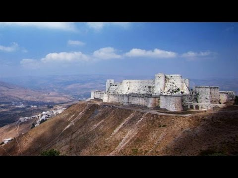 Was the Krak des Chevaliers Castle Entrance a Lethal Trap?