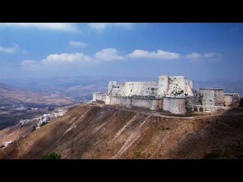 Was the Krak des Chevaliers Castle Entrance a Lethal Trap? - YouTube