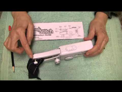 How to Use the Singer Handy Stitch Sewing Maching - Part 1