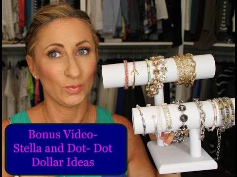 BONUS Video Stella And Dot Spending Your Dot Dollars And Giveaway LisaSz09