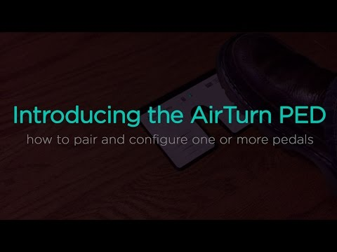 AirTurn PED with OnSong