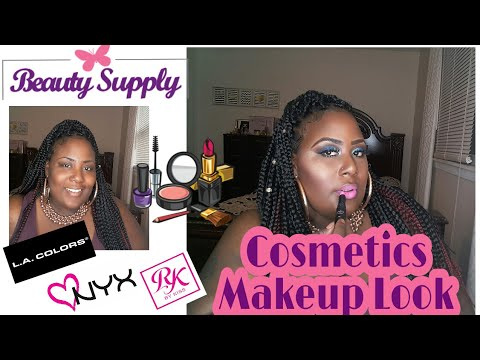 Budget Summer Makeup Look/Beauty Supply Cosmetics
