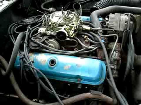 1978 Trans Am with rebuilt carb, idling  YouTube