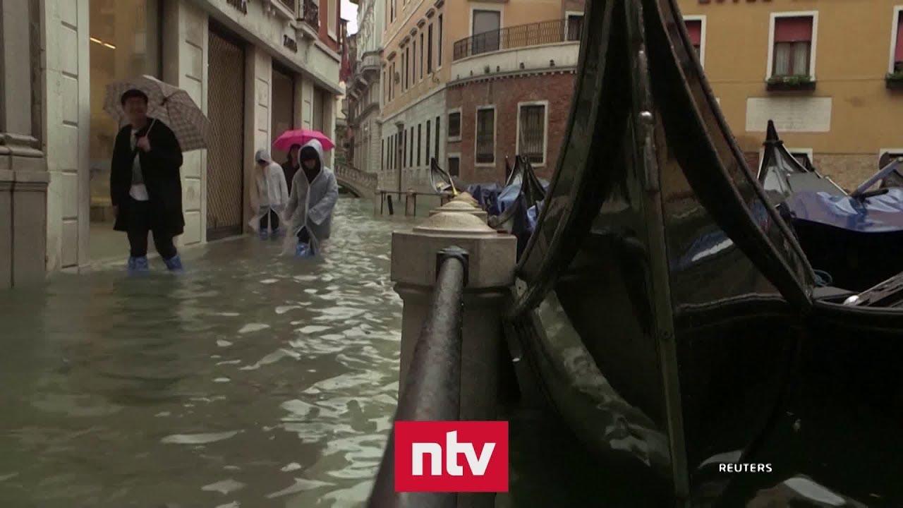 Venedig streitet über unfertigen Hochwasserschutz   n-tv