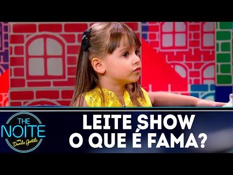 Leite Show: O que é fama? | The Noite (30/07/18)