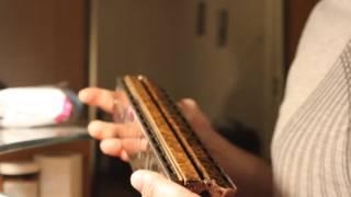Басовая хроматическая гармошка. Bass chromatic harmonica.
