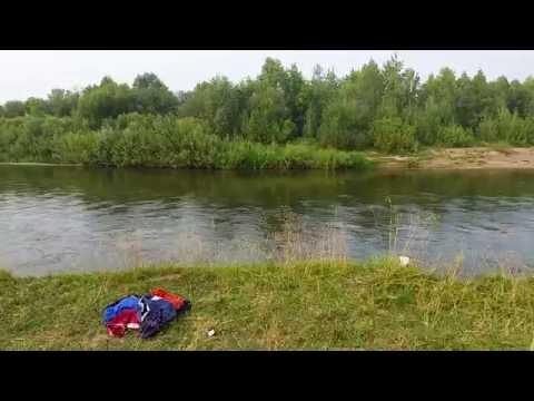 Лето 2016, отдых в дер. Бакийково, река Уфа