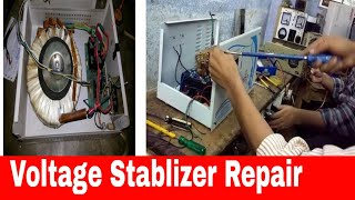 How to Repair volt stablizer, power on off problem.
