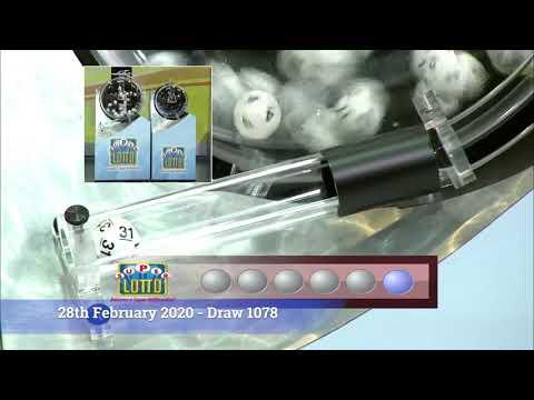 Super Lotto Draw 1078 02282020