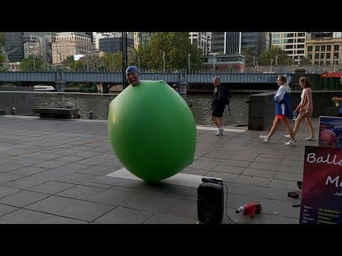 The balloon man / 4th standard / 2nd sem/ balloon selling