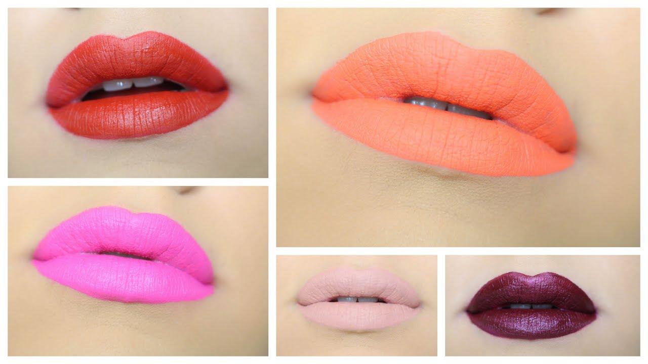 Anastasia Beverly Hills Liquid Lipstick Swatches | gkhairmakeup ...