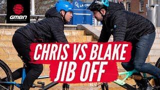 Blake vs Chris | GMBN Mountain Bike Jib Off!