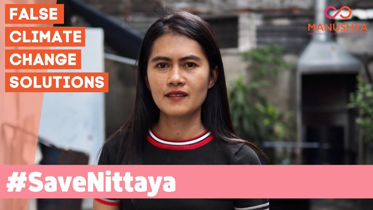 #SaveNittaya From Going to Jail Because of Thailand's Unfair Forest Reclamation Policy