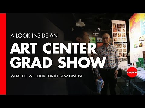 Design Portfolio Examples - Art Center