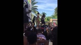 Jamaica Carnival 2015 - Sunrise Breakfast Party - Machel Montano Pop A Bottle