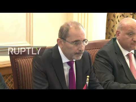 Jordan: FM Safadi meets with Sergei Lavrov in Amman