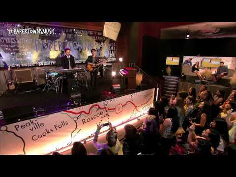 Nat and Alex Wolff - Look Outside [Live from the Paper Towns Get Lost Get Found Livestream]