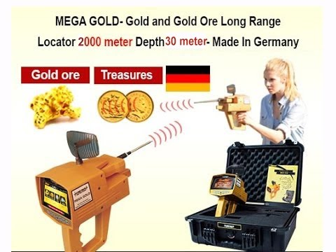 MEGA GOLD 2018 | Gold & Diamond Detector 0090 507 441 0706