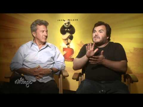Jack Black & Dustin Hoffman on Being Funny and Getting Into Fights