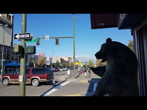 Alaszka - Városszemle, Anchorage