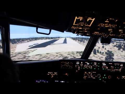 Atterrissage Grand Canyon avec Flight Sensations Ile-de-France 13/06/2015