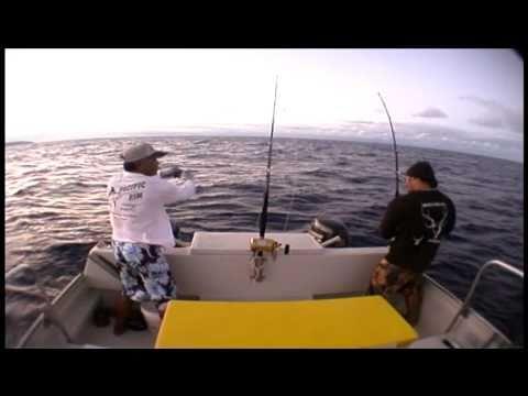 Ahi At The Buoy - Hawaii Fishing Action