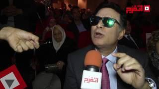 اتفرج| فنانون يشاركون باحتفالية «وطن واحد» بجامعة عين شمس