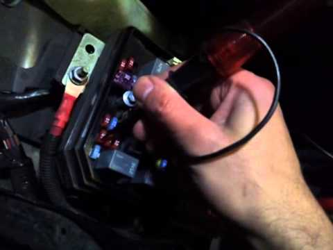 car fuses - easy way to test them!!
