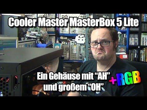 Ein Gehäuse vorgestellt: Cooler Master MasterBox Lite 5 RGB