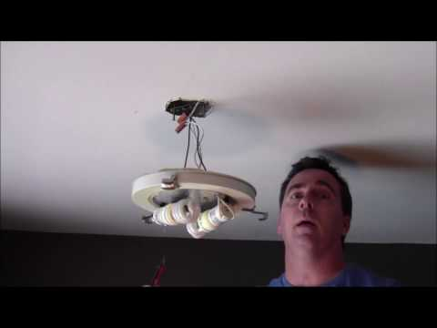 How to install an LED light fixture