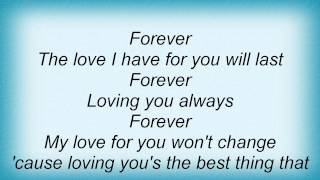 Jaheim - Forever Lyrics