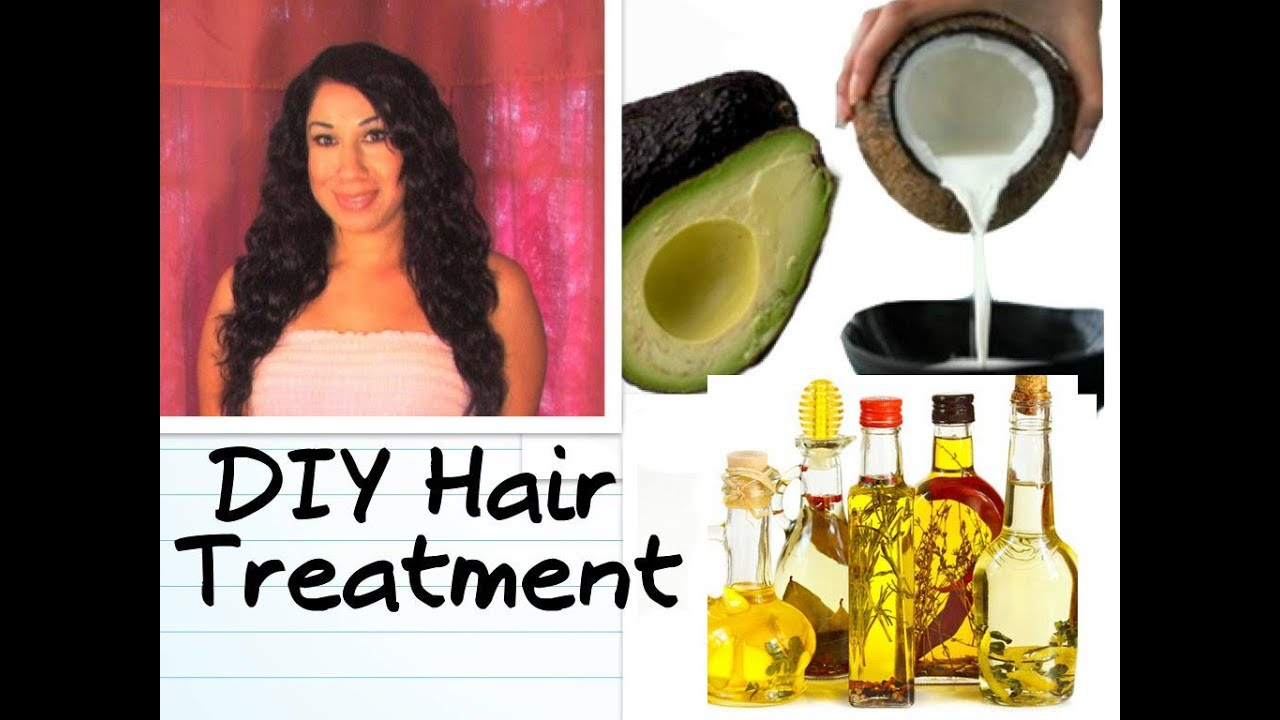 DIY SILKY HAIR TREATMENT How To SMOOTH FRIZZY HAIR And Get RID Of Split  Ends Natural Homemade
